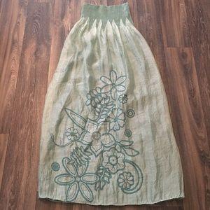 🎈Lapis Teal Dress or Skirt